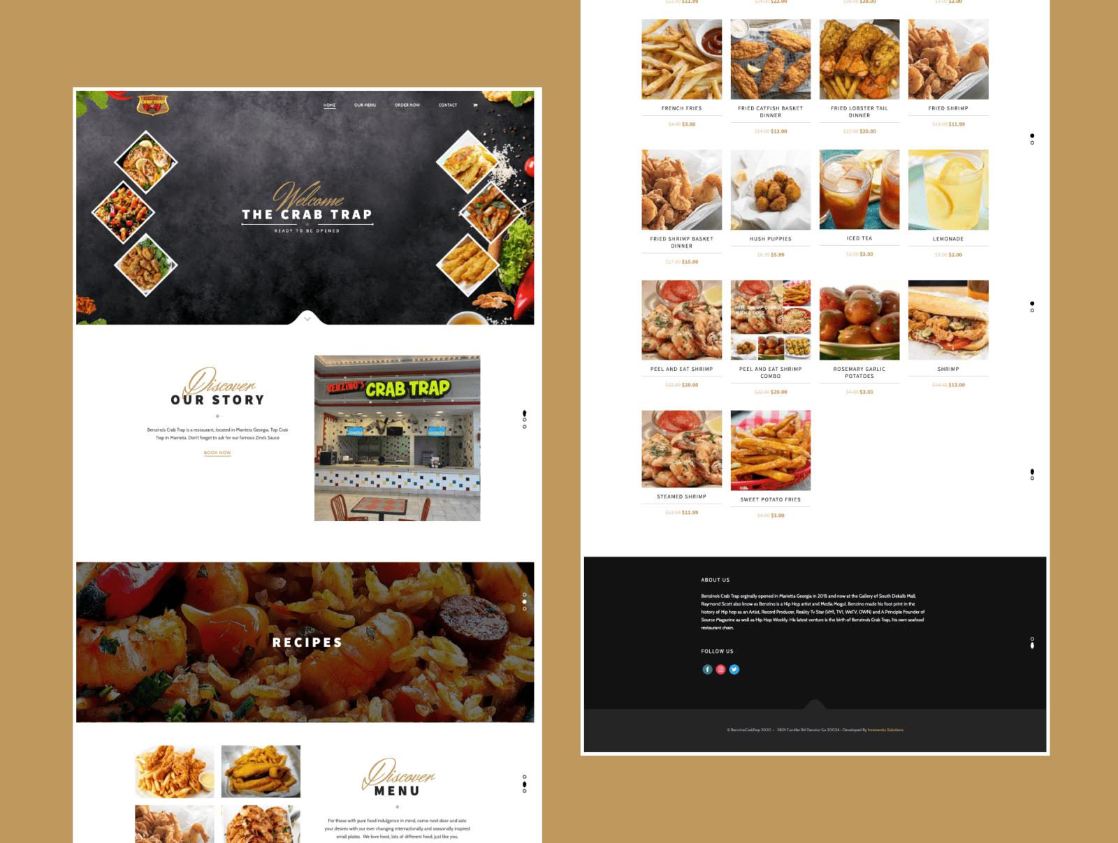 restaurant ordering website wordpress