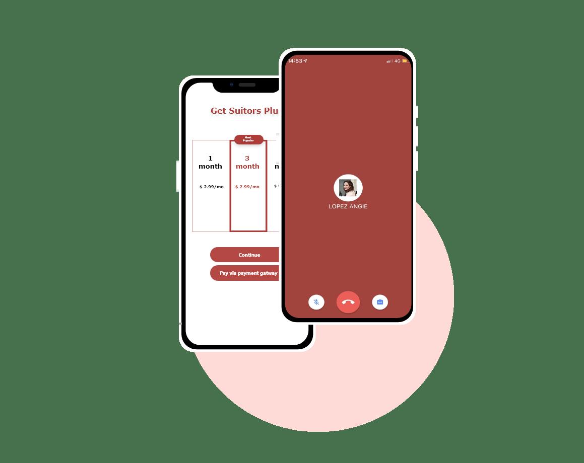 flutter dating app template design and development