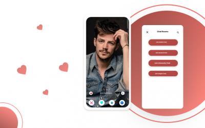 dating app flutter template app development for social media app